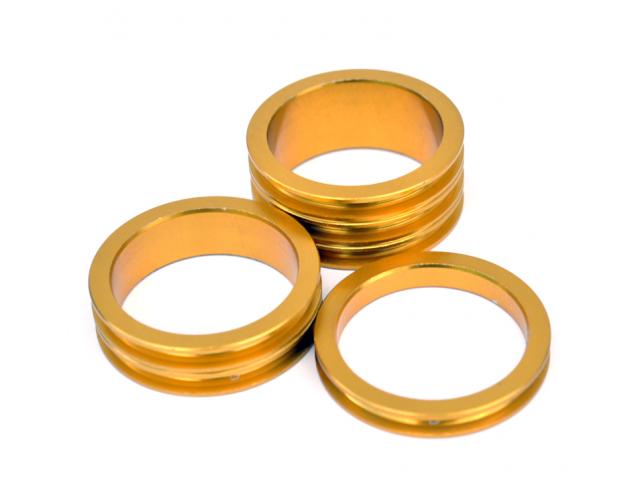 Podložky pod představec Max1 A-Head set zlatý