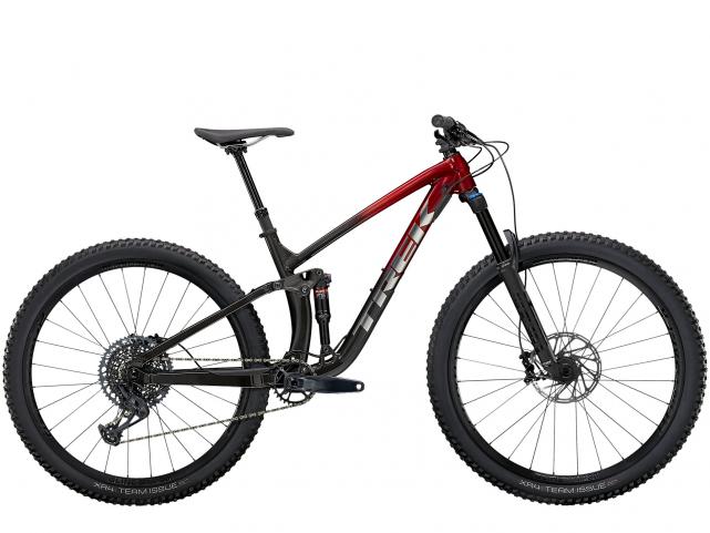 Kolo Trek Fuel EX 8 GX Rage Red to Dnister Black Fade 2021