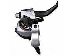 Řadící/brzd. páka Shimano Tourney ST-TX800 MTB/trek pro V-brzdy levá 3r 2 prstá stř