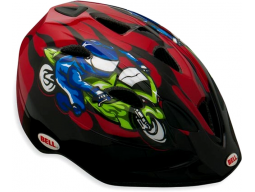 Helma Bell TATER Red Moto GP Flames