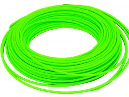 Bowden brzdový reflexní zelená 1m