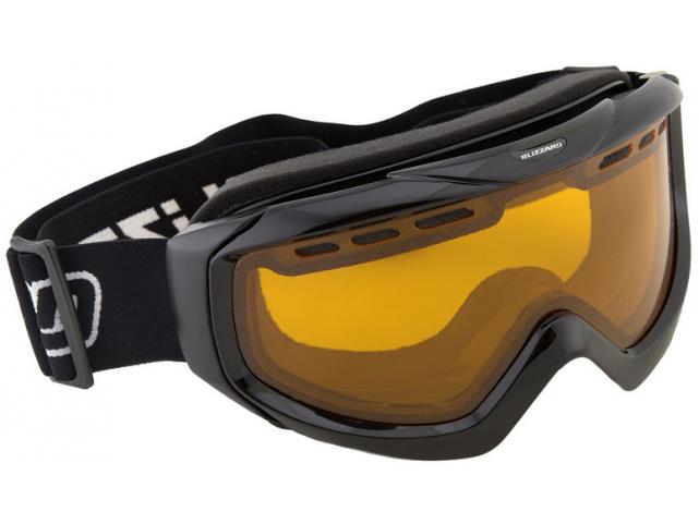 Lyžařské brýle Blizzard 906 DAV, black shiny, amber1