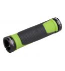 Gripy PRO-T Plus na inbus 308 černo-zelená+černé objimky