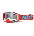 Brýle 100% motokrosové Racecraft Kepler čirá skla + chránič nosu + 20 strhávaček