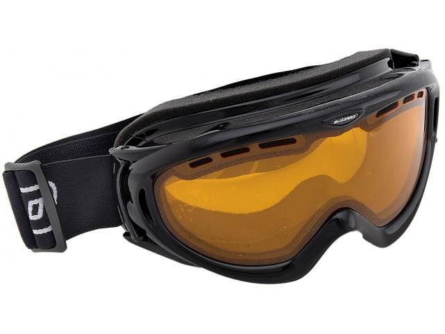 Lyžařské brýle Blizzard 905 DAVO Black Shiny Amber