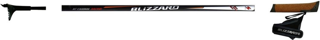 Běžecké hole Blizzard RACING CARBON Black model 2012/13
