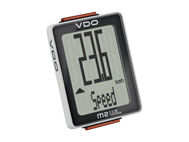 Cyklocomputer VDO M2 WL (bezdrátový) analogový
