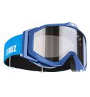 Lyžařské brýle BLIZ EDGE JR OTG Blue, Orange W Silver Mirror, model 2016/17
