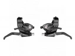 """Řazení Shimano STEF41 """"V"""" 3 x 6k černé, pravé a levé"""