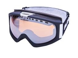 lyžařské brýle BLIZZARD Ski Gog. 933 MDAVZS, black matt, amber 2, silver mirror