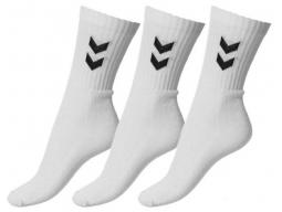 Ponožky Hummel BASIC 3 páry, bílé
