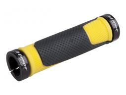 Gripy PRO-T Plus na inbus 308 černo-žlutá+černé objímky