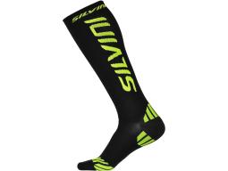 Ponožky Silvini Casalone UA562 black neon