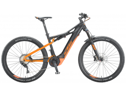 Elektrokolo KTM MACINA CHACANA 294  Black matt (orange), 2020