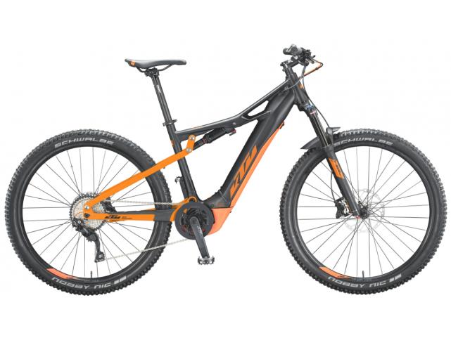 Elektrokolo KTM MACINA CHACANA 294  Black matt (orange), 2020