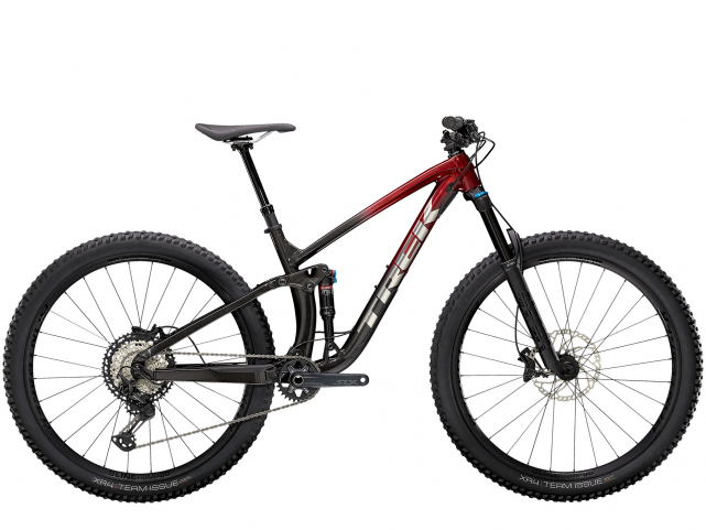 Kolo Trek Fuel EX 8 XT Rage Red to Dnister Black Fade 2021