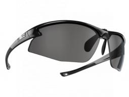Sluneční brýle Bliz MOTION + Shiny Metallic Black Smoke w Silver Mirror Cat.3+Clear+Orange