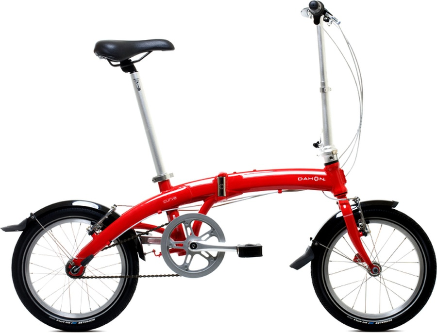 Kolo Dahon CURVE D3 Red model 2012