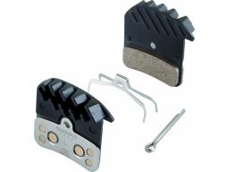 Brzdové destičky SHIMANO H03C kovové s chladičem MTB