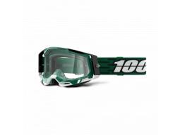 Brýle 100% RACECRAFT 2 GOGGLE MILORI - CLEAR LENS