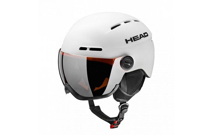 Lyžařská helma Head Knight White model 2016/17