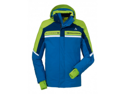 Bunda Schöffel Ski Jacket Bergamo1 Blue/Green, model 2017/18