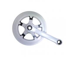 Prevodník 1 oceľ/plast, 40 z., kľuka 152mm, kryt