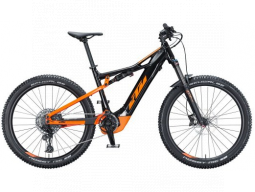 Elektrokolo KTM MACINA LYCAN 272 625Wh metallic black (orange+black matt), 2021