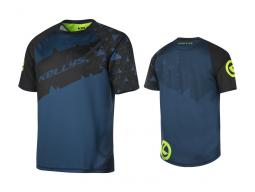 Enduro dres KELLYS TYRION krátky rukáv blue