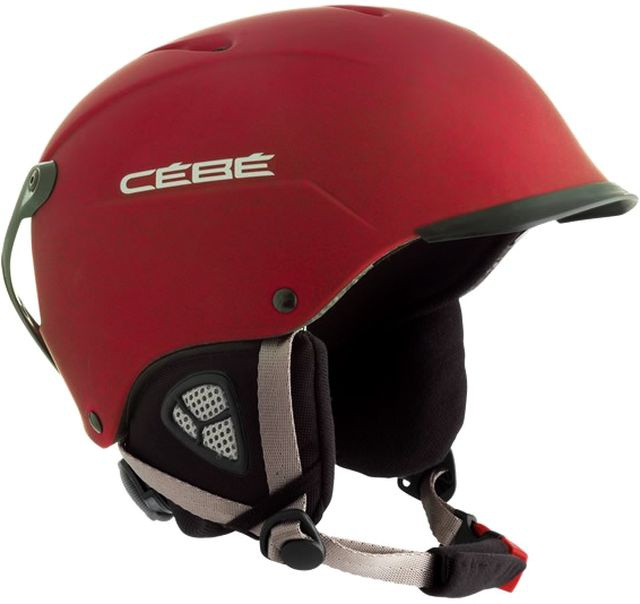 Helma Cébé CONTEST VISOR Mat Red model 2012/13