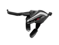 Řadící a brzdové páčky Shimano STEF65 3x8 černé