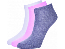 ponožky AUTHORITY Ankle Socks 3pck, white, shadow, pink