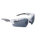 Brýle Force RIDE PRO bílé diop.klip,černá laser skla
