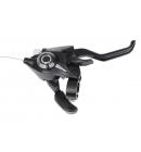 Řadící brzdová páka Shimano ALTUS ST-EF51 MTB/trek pro V-brzdy pravá 7 rychl 2 prstá černá (baleno)