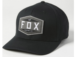 Kšiltovka Fox Racing Emblem Flexfit Black