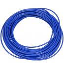 Bowden řadící 1m tm.modrý