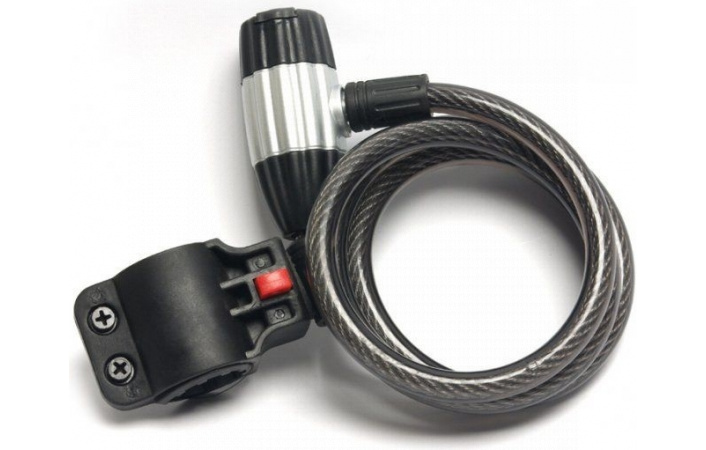 Zámek Pro-T SILVER RING M10x120cm
