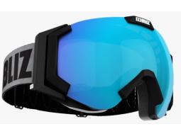 Lyžařské brýle Bliz CARVER SR Matt Black, Brown with Blue Multi, model 2017/18