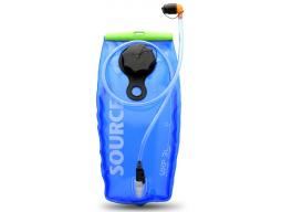 Rezervoár na pití Source WXP LP 3l, transparentní modrá