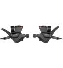 Řadící páky Shimano set ALTUS SL-M315 levá/pravá 3x7 rychl objímka s ukaz