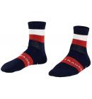 Ponožky Bontrager Race Quarter tmavomodrá
