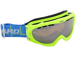 Lyžařské brýle Blizzard 905 MDAVZFO Neon Green Matt Amber Blue Mirror