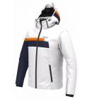 Bunda Colmar Mens Ski Jacket 1303 White/blue/orange