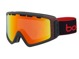 Lyžařské brýle Bollé Z5 OTG Matte Black & Red Nature Sunrise