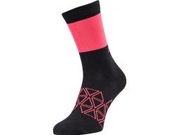 Ponožky Silvini Bardiga UA 1642 Black / Red