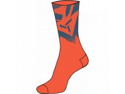 Ponožky Silvini Nereto UA1808 Orange-Blue