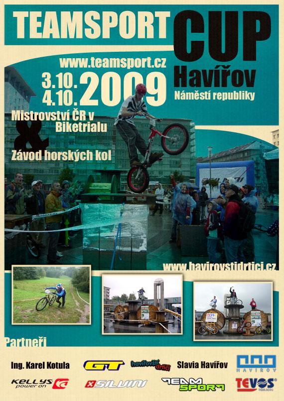 plakát Team Sport CUP 2009